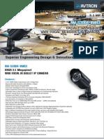 Avtron OXGA Vari focal IR Bullet IP Camera Am s3064 Vmr3 PDF
