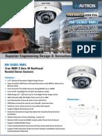 Avtron IR Varifocal vandal Dome Camera AM-S6965-VMR1