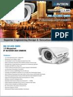 Avtron IP Outdoor Box Camera Am Sc1385 Vmr5 PDF