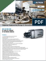 Avtron Box Mount IP Camera AM-SD908-NM-PDF