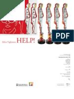 Catalogo mostra Help! di Silvio Vigliaturo