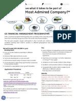 GE Financial Management Program
