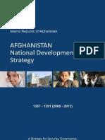 Afghanistan National Development Strategy