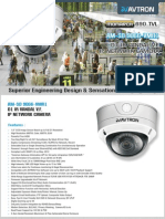 Avtron IR Vandal Varifocal IP Network Camera Am Sd9066 Vmr1