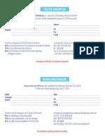 Inschrijvingsformulier Bulletin d'Inscription