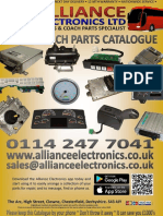Bus and Coach Electronic & Electrical Parts Catalogue 2018