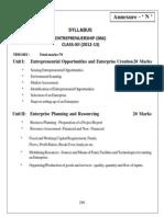 N Enterprenuership XII notes