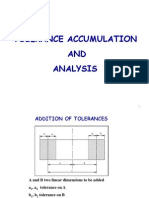 Tolerance Accumulation and Analysis (GD&T)