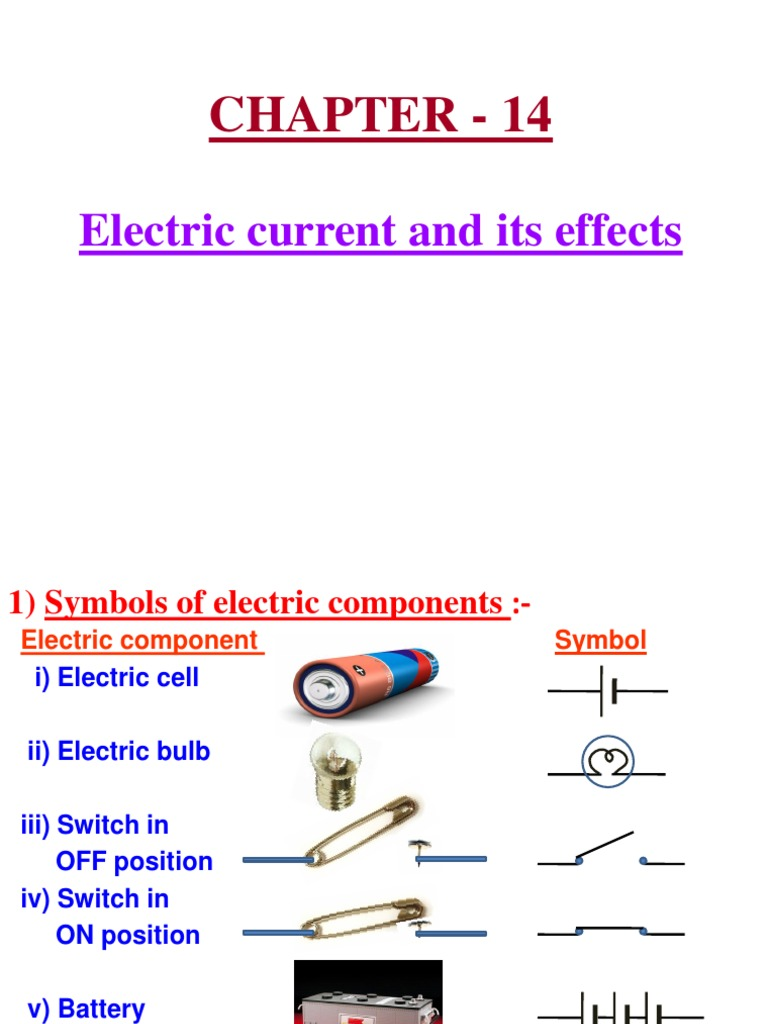 Magnificent Symbol Of Electric Cell Composition Wiring Diagram