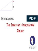 Introducing The Strategy + Innovation Group