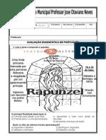 Avaliação Diagnóstica de Portuguesa 2013.doc