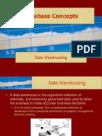 Database Concepts Data Warehousing