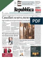 La Repubblica 05.11.2013