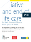 Palliative and end of life care for Black, Asian and Minority Ethnic groups in the UK, Demographic profile and the current state of palliative and end of life care provision, June 2013