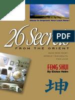 [Interior Design] - 26 Secrets of Feng Shui