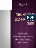 Establishment of Drug Information Centre