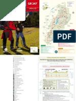 Guía (topoguía) del Sendero GR 247 Bosques del Sur