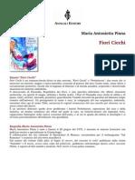 """Maria Antonietta Pinna - """"Fiori Ciechi"""" (con recensioni)"""