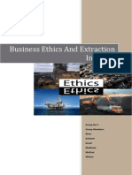 Ethics Extraction Industry Group 5 Section A
