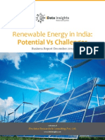 Renewable Sector in India - Potential VS Challemges