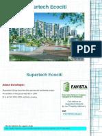 Supertech Ecociti Call @ 09999536147 at Sector 137, Noida