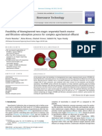 12 Feasibility of bioengineered two staged sequential batch reactor and filtration adsorption process for commplex agrochemical effluent
