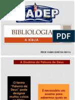 Bibliologia - Aula 01