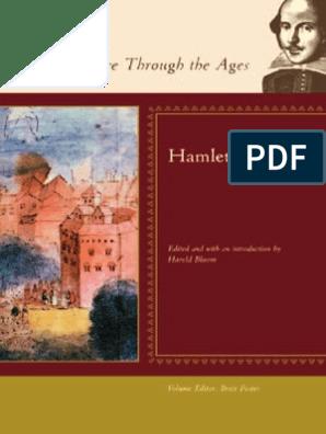 Harold Bloom, Brett Foster Hamlet Blooms Shakespeare Through