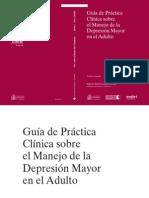 Guía de Práctica Clínica - Depresión Mayor en el Adulto