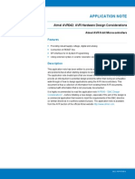 Atmel 2521 AVR Hardware Design Considerations Application Note AVR042