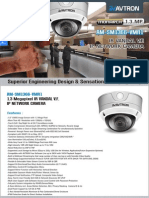 Avtron IR Vandal Varifocal IP Network Dome Camera Am Sm1366 Vmr1 PDF