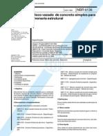 NBR 6136-94 Blocos de Concreto Alv Estrutural - Especificação