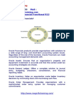 Practicle  Oracle Financials r12 Online Training