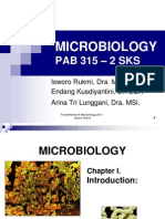 1. Microbiology- Introduction 2012