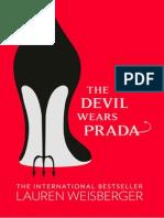 The Devil Wears Prada - Lauren Weisberger - Extract
