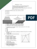 Simulado de Matemática - 6º a 9º anos