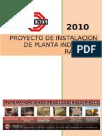 Proyecto de Instalacion de Planta Industrial Ranchos
