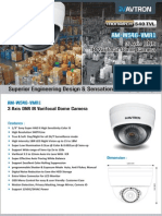 Avtron IR Varifocal Dome Camera AM-W546-VMR1