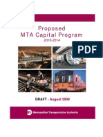 Draft Proposed 2010-2014 MTA Capital Program
