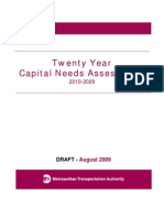 Draft Twenty Year Capital Needs Assessment 2010-2029