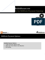 List of documents to sign-up for BillDesk Payment Gateway