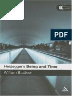 William Blattner - Heidegger's Being and Time - A Reader's Guide