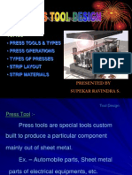 Presentation on Press Tool Design 01