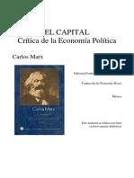 El Capital. I