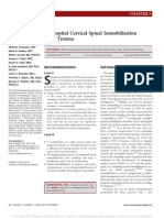 02prehospitalcervicalspinalimmobilizationaftertrauma-neurosurgery2013-131114031805-phpapp01