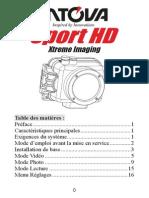 Sport Pro HD Intova mode d'emploi (français)