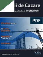 Catalog Cazare Muncitori Bucuresti 2013-2014 - Administrare Cazare Cantine SA