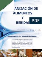 ORGANIZACIÓN DE ALIMENTOS Y BEBIDAS