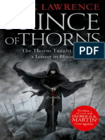 Prince of Thorns - Mark Lawrence - Extract