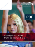 Oval Education Insurance Brochure